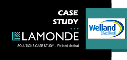 Case study: Welland Medical Machine Data Capture