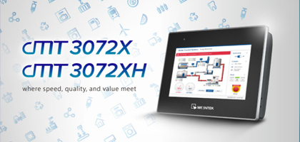 New Product Announcement – Weintek cMT3072X & cMT3072XH