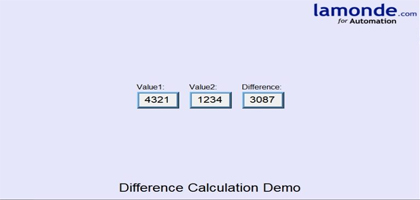 TechTip: Calculating The Difference Between Two Values Using a Macro In a Weintek HMI