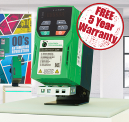 Commander C Series Drives – Now with 5 Year Warranty