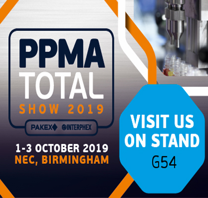 We're Exhibiting at PPMA Total 2019